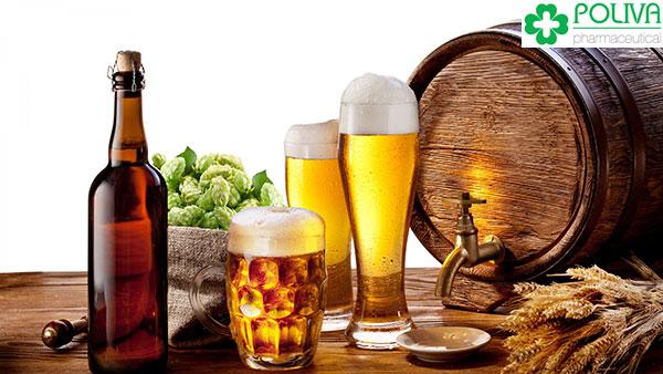 Bia, rượu ảnh hưởng trực tiếp tới sinh lý nam.