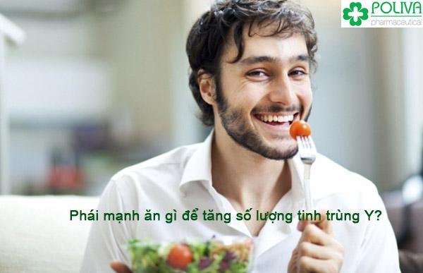 Tăng tinh trùng Y cho nam giới bằng việc lựa chọn thực phẩm.