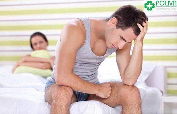Yếu sinh lý nam nên sớm chữa trị để không ảnh hưởng tới hạnh phúc gia đình.