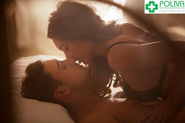 Thường xuyên gần gũi với bạn tình để gia tăng tình cảm và tăng cường sinh lý nam của bạn.