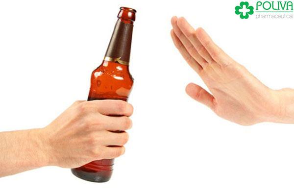 """Tạm biệt rượu bia nếu không muốn """"cậu nhỏ"""" không nghe lời."""