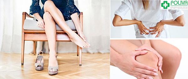 """""""Yêu"""" nhiều làm các bộ phận cơ, khớp như cánh tay, đầu gối, chân nhức mỏi."""