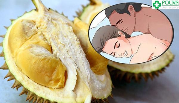 Sầu riêng là thức trái cây rất tốt cho chuyện yêu.