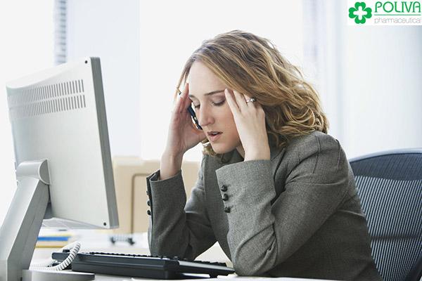 Stress, căng thẳng liên tục làm ảnh hưởng tới sinh lý nữ.
