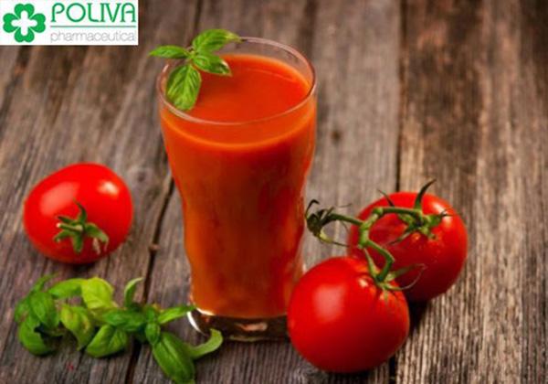Sử dụng nước ép cà chua liên tục đồ uống này hàng ngày để bổ sung nội tiết tố và ngăn ngừa ngực nhão xệ.