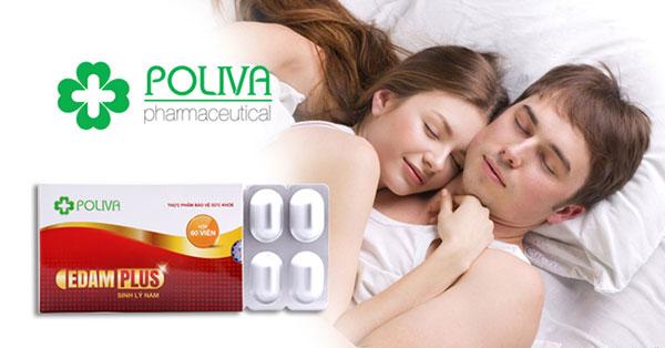 Poliva Edam Plus giúp cải thiện và tăng cường chất lượng tinh trùng