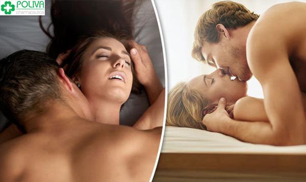 Phụ nữ có thể đạt khoái cảm nhiều lần trong một lần chinh chiến.