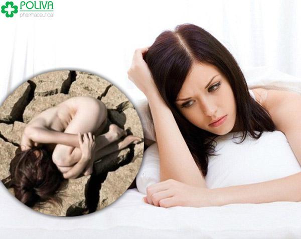 Khô âm đạo là chứng bệnh khó nói của phụ nữ