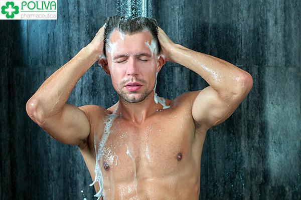 Tắm giúp cơ thể sạch sẽ, thơm tho