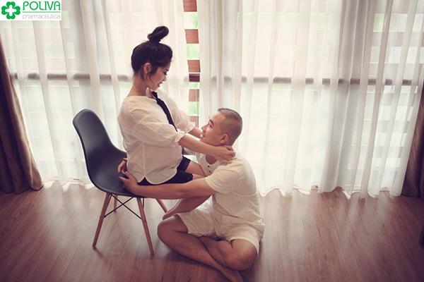 Khi mang thai nếu nhận được sự quan tâm của chồng, mẹ bầu rất hạnh phúc