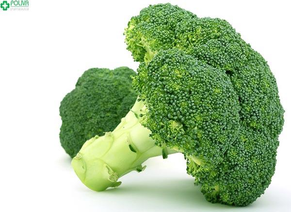 Bông cải xanh là nguồn thực phẩm cung cấp các chất dinh dưỡng cho khỏe con, khỏe mẹ