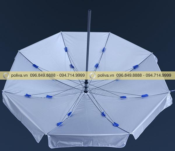 Mặt trong dù màu bạc