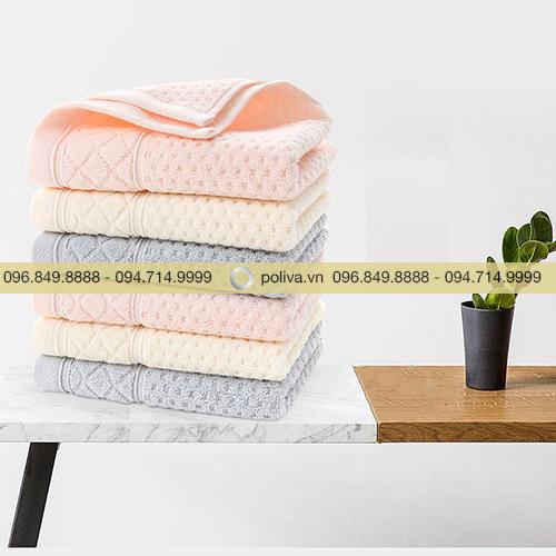 Khăn tắm cotton dệt tổ ong