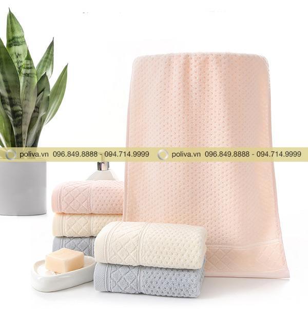 Kích thước khăn rộng đủ quấn và làm ấm cơ thể