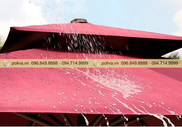Chất liệu vải cao cấp chống thấm nước 99%