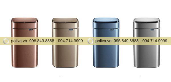 Liên hệ Poliva để được hỗ trợ đặt mua thùng rác cảm ứng nhanh nhất