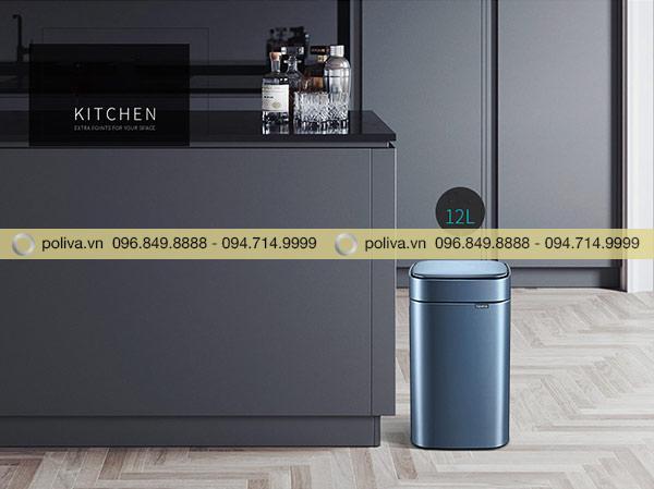 Thùng rác cảm ứng có thể đặt ở nhiều vị trí trong nhà