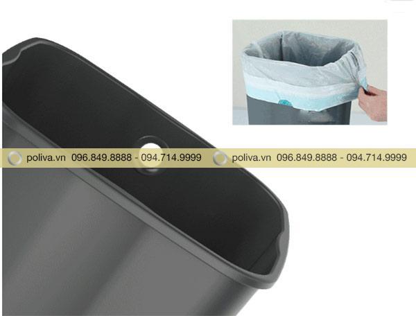 Thùng nhựa đựng rác bên trong bằng nhựa PP