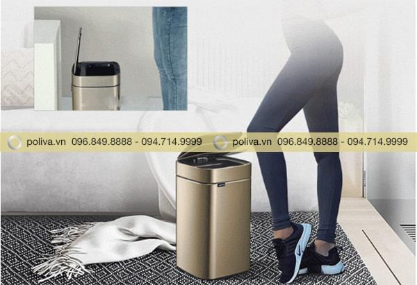 Thùng rác cảm ứng - Loại thùng rác tích hợp công nghệ hiện đại nhất hiện nay