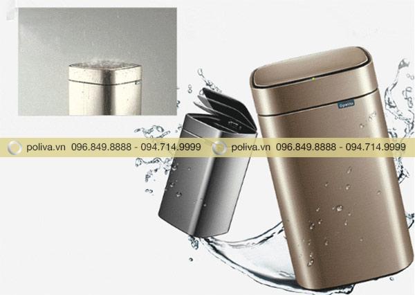 Thùng rác có khả năng chống nước tốt