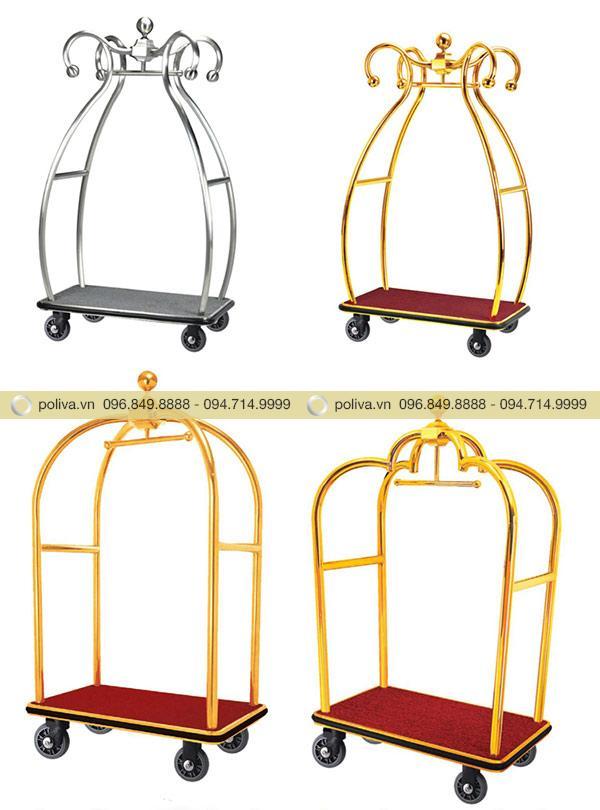 Poliva cam kết cung cấp các mẫu xe đẩy khách sạn cao cấp và chất lượng nhất