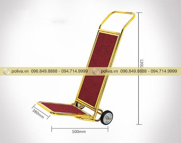 Thông số kích thước xe chở hành lý