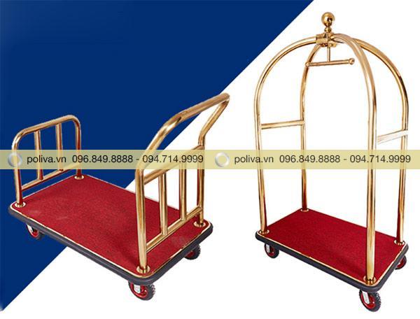 Xe kéo, đẩy chuyên chở đồ dùng, hành lý của khách