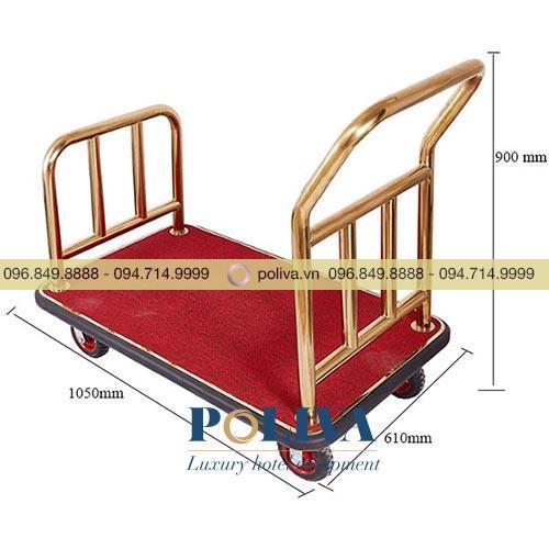 Xe kéo hành lý hình chữ U