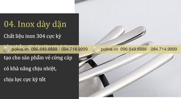Dao muỗng nĩa inox