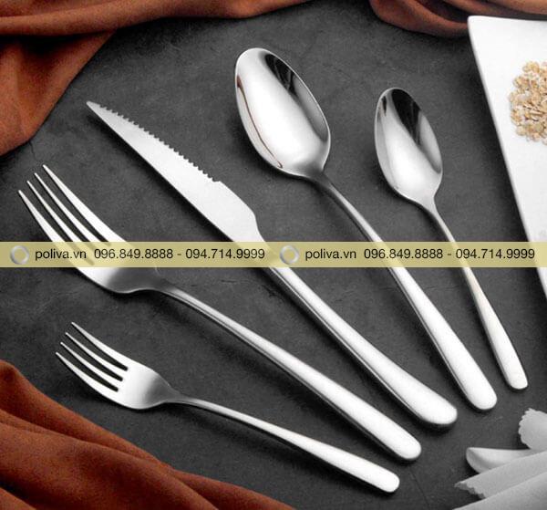 Dao muỗng nĩa bằng inox