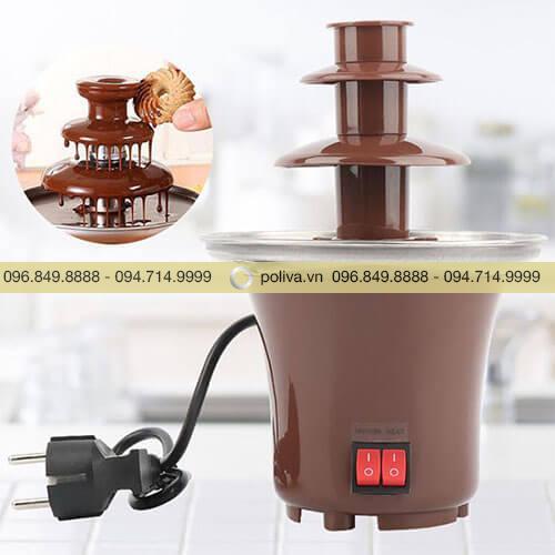 Tháp phun chocolate