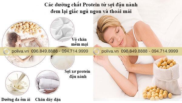 Chất liệu tạo nên giấc ngủ thoải mái, thư giãn sau những giờ làm việc căng thẳng
