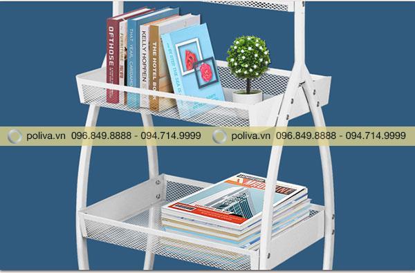 Ngăn đựng đa năng có thể đặt sách báo hoặc đồ trang trí