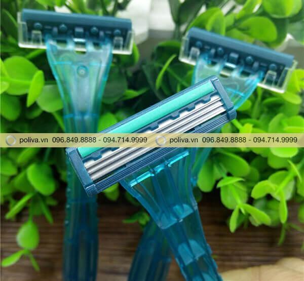 Lưỡi dao cạo râu từ thép không gỉ cao cấp, đảm bảo độ sắc