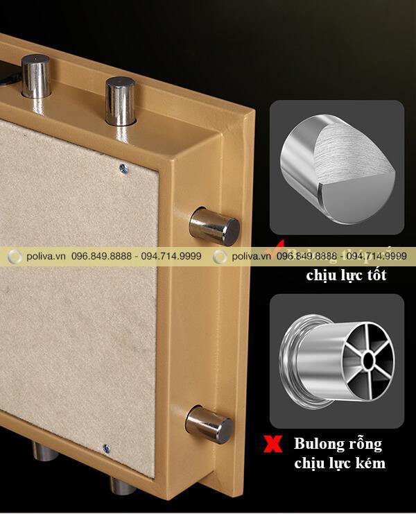 Cấu tạo cửa két sắt mini khách sạn chắc chắn và đảm bảo an toàn