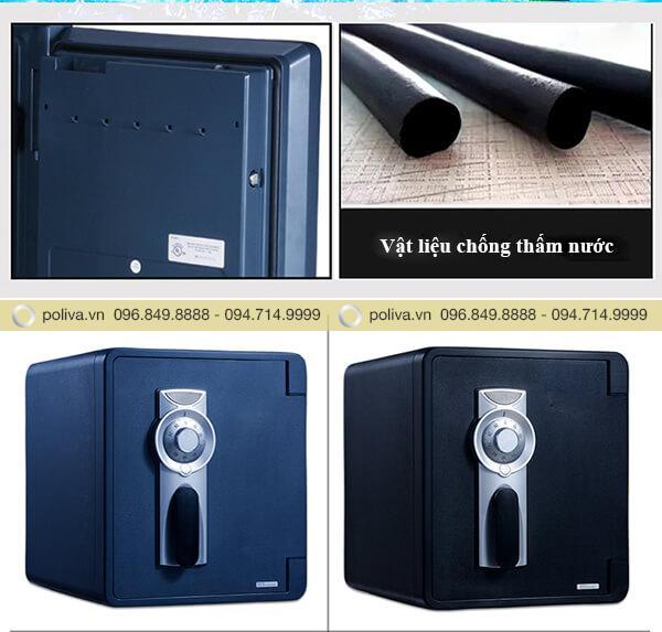 Chất liệu chống thấm nước bên ngoài két sắt mini