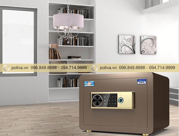 Lắp đặt két sắt mini trong phòng ngủ, phòng làm việc hoặc tủ quần áo