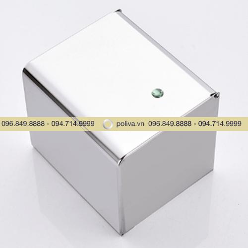 Hộp đựng giấy vệ sinh inox 304