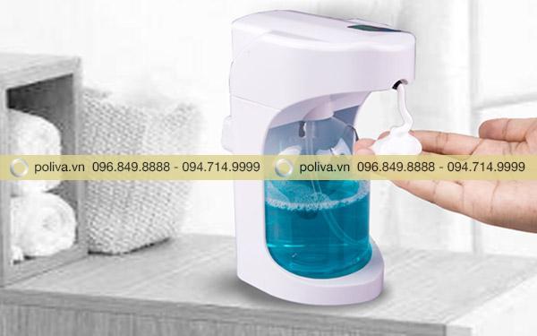 Bình đựng nước rửa tay hoạt động theo cơ chế cảm ứng hiện đại