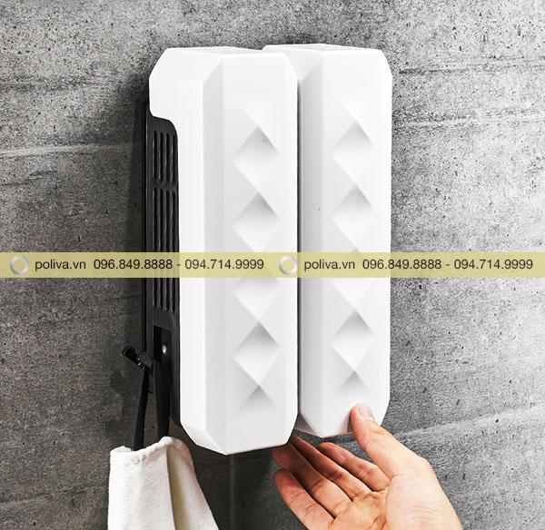 Lắp đặt bình đôi sẽ tiện lợi khi có nhiều người sử dụng