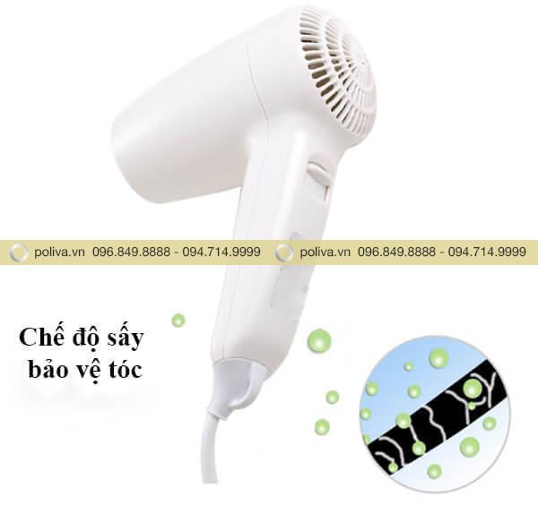 Máy sấy tóc có chế độ sấy linh hoạt, an toàn