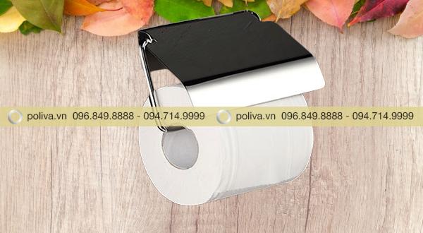 Sử dụng giấy cuộn nhỏ, có lõi cho kiểu móc treo giấy vệ sinh