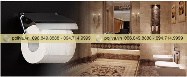 Poliva chuyên cung cấp các loại hộp đựng giấy vệ sinh, móc treo giấy cao cấp