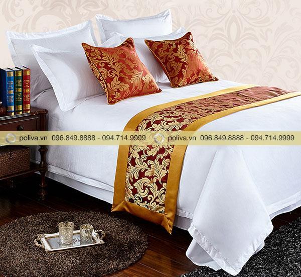 Dải trang trí giường dành cho khách sạn cao cấp