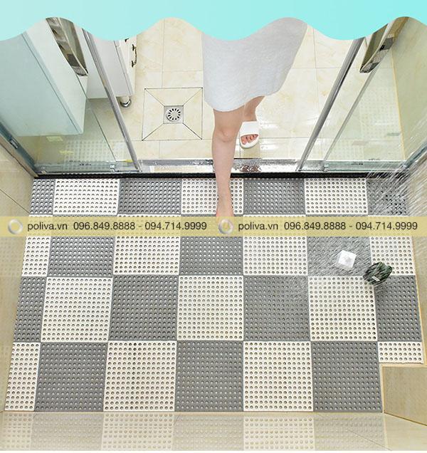 Hình ảnh thảm chống trượt nhà vệ sinh dành cho khách sạn