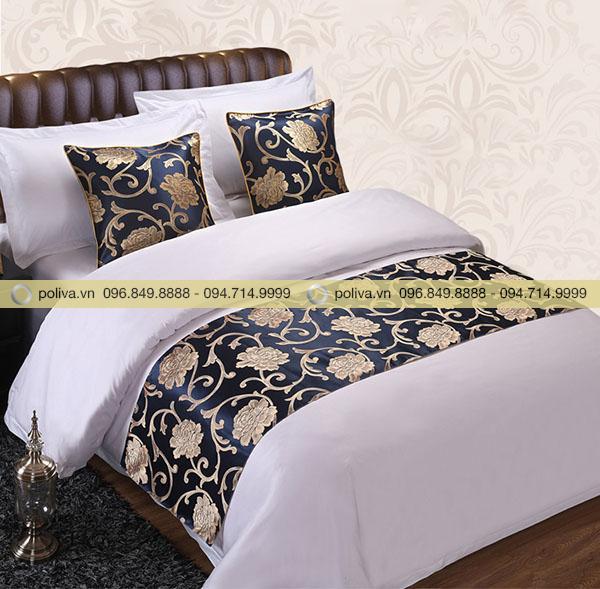 Tấm trải ngang giường dành cho khách sạn cao cấp