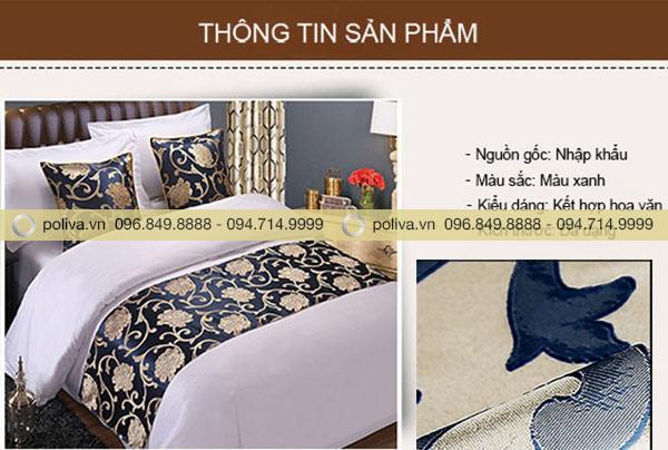 Thông tin sản phẩm dải trang trí giường khách sạn cao cấp