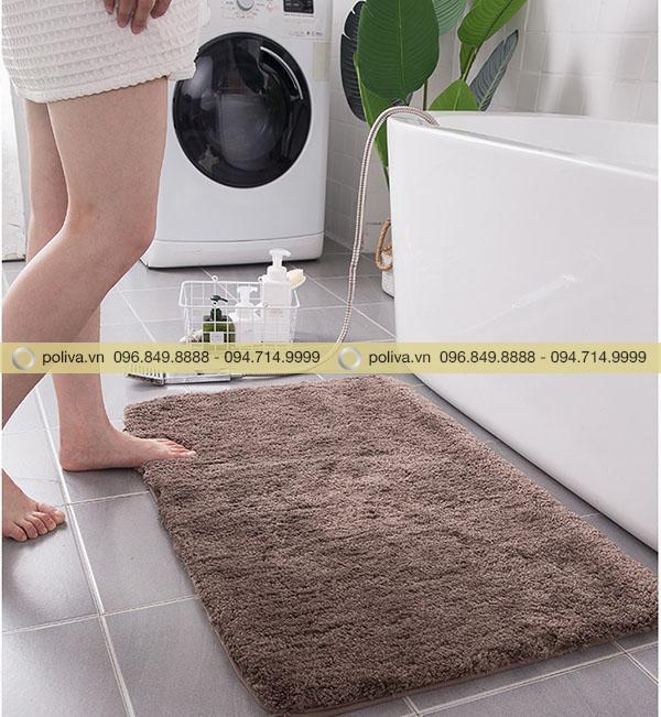 Thiết kế thảm chùi giúp đôi chân luôn khô ráo