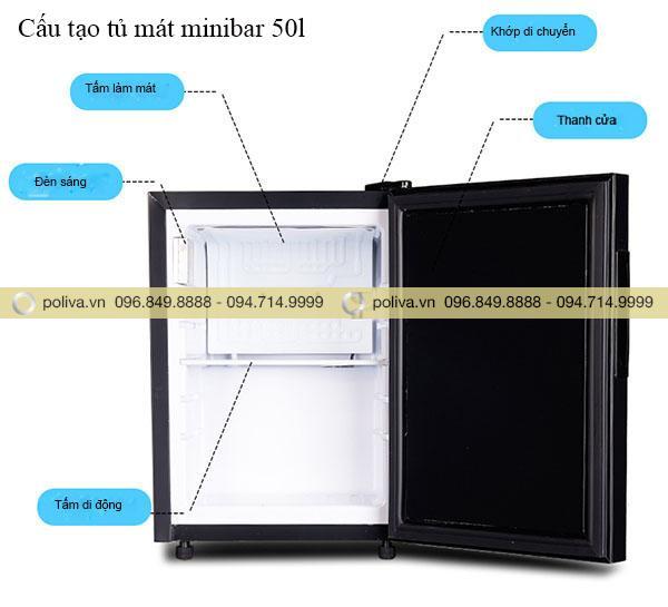 ủ mát mini có thiết kế nhỏ gọn, thích hợp với đa dạng không gian sống