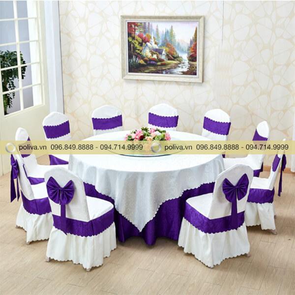 Áo phủ ghế khăn trải bàn